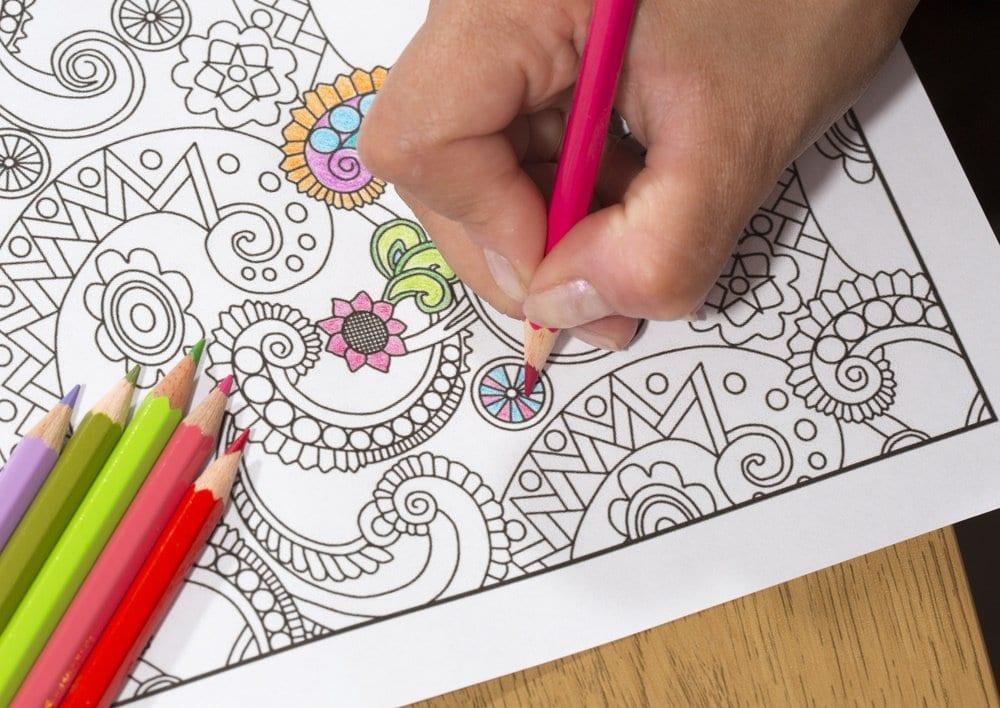Como Terapia O Por Placer Libros De Colorear Para Adultos De Museo